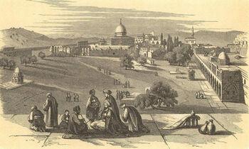 Jerusalem, Palestine, 1870