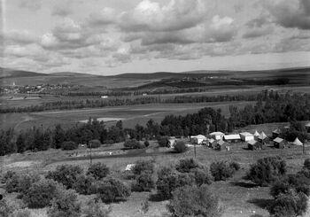 VIEW OF THE JEZREEL VALLEY. נוף של עמק יזרעאל.D443-104