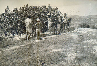 Excursions after the Six Day War old Shomron