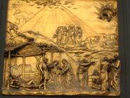 Detalle en Puerta Para Baptisterio de San Giovani 2C Florencia