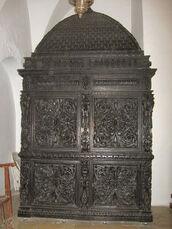 Eliahu Ha'navi Synagogue nearer ארון הקודש