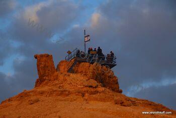הר גמל מצפה רמון