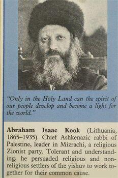 הרב אברהם יצחק קוק-JNF014538 1935