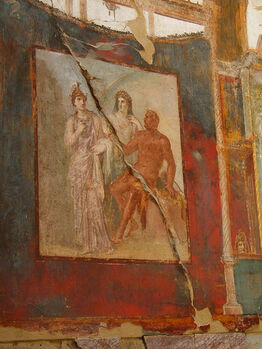 Hall of the Augustals - Hercules in Olympus