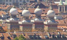 Coupoles de la Synagogue de Turin