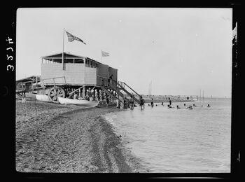 Dead Sea Kallia beach 1920 LOC