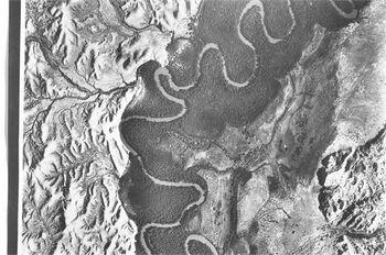 גאון הירדן - צילום אויר-JNF009322 28 באוגוסט 1929