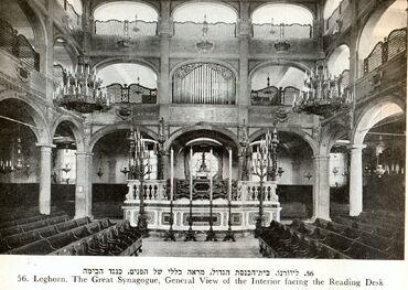Synagogue livorno1