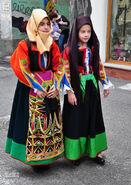 Costume of orgosolo
