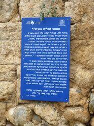 Old site moshav Nechalim a galil 1