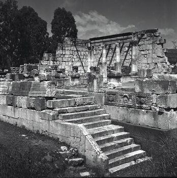 כפר נחום - עתיקות-JNF019213 1945