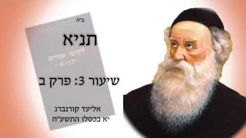 """לומדים תניא - שיעור 3 פרק ב: """"ונפש השנית בישראל היא חלק אלוה ממעל ממש""""!"""