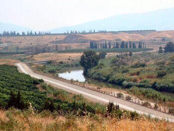 River Jordan near Ashdot Yaacov
