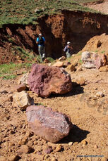 Quarries sandstone, basalt and tuff - Mount Kabir 03