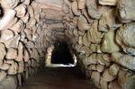Santa Cristina Pozzo Sacro capanna lunga A interno 5881