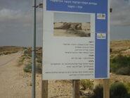 Railway bridge along the First World War from Beersheba to the Sinai desert at Azuz near Nizana 03