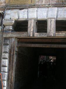 The entrance to ghetto