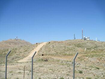 Snow & Horan lookouts in Mount Hermon