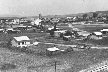 VIEW OF AFULA. העיר עפולה.D25-019
