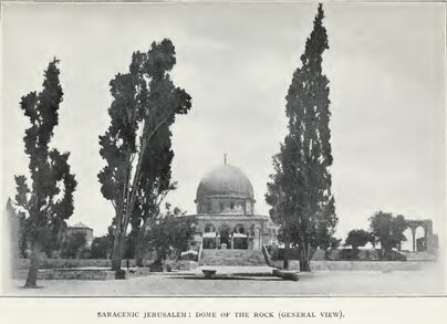 Dome of the rock 1903