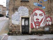 Graffiti from Orgosolo