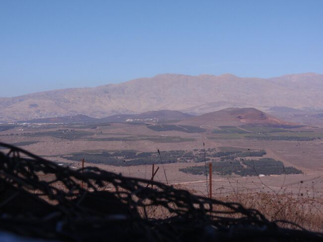 Northern Golan Height's mountains