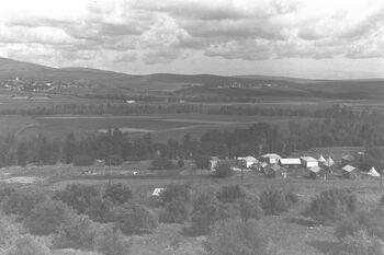 VIEW OF THE JEZREEL VALLEY. נוף של עמק יזרעאל.D20-086