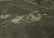 El Afuleh after an air raid