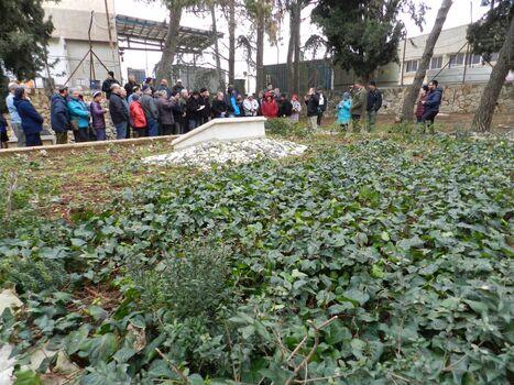 חלקת הקברות עטרות