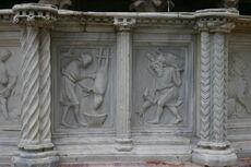 Perugia - Fontana Maggiore - 1 - Mesi - 12 - Dicembre - Foto G 27Orto 5 ago 2006