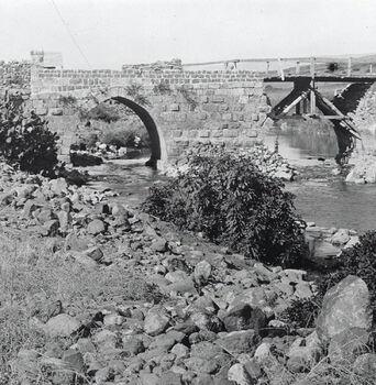 גשר בנות יעקב בגליל העליון-JNF022162 1 בינואר 1910