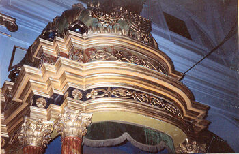 The Ark of the synagogue 3