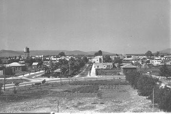 VIEW OF AFULA. העיר עפולה.D25-020