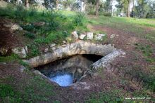 חורבת אל מדרג בור מים ביזנטי 33