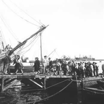 עולי לה ספציה - האוניות דב הוז ואליהו גולומב בנמל חיפה-ZKlugerPhotos-00132ow-090717068513607d