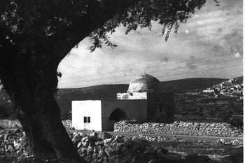 RACHEL'S TOMB IN BETHLEHEM. קבר רחל בבית לחם.D21-002