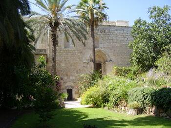 וCrusader Church in Abu Ghosh