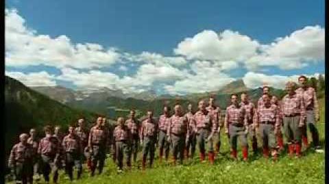 Coro Sasslong - La Montanara 2007