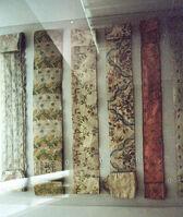 Iner ornamental velvet covering Scroll of the Law