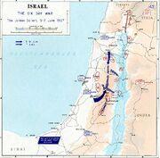 1967 Six Day War - The Jordan salient