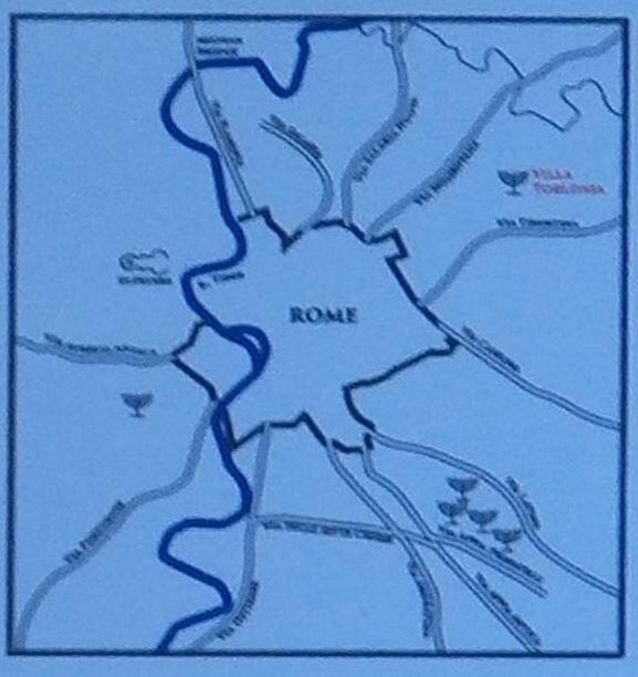 הקטקומבות ברומא מפת תפוצה.jpg
