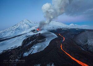 Volcano Plosky Tolbachik, Kamchatka, Russia,111