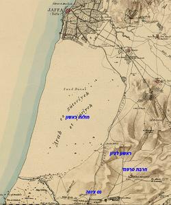 Jaffa map