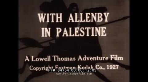 """WITH_ALLENBY_IN_PALESTINE""_WORLD_WAR_I_BRITISH_DESERT_ARMY_CAMPAIGN_IN_EGYPT_&_PALESTINE_84754"