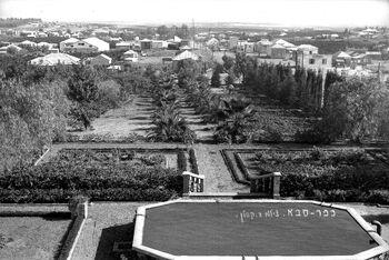 GENERAL VIEW OF KFAR SABA. מראה כללי של של הישוב כפר סבא.D703-134