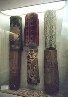Ornamental velvet covering Scroll of the Law