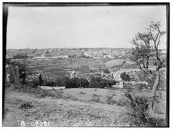 Jerusalem from mount olive 2