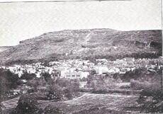 Nablus and Mount Gerizim (before 1899)