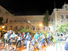 מנזר רטיסבון אליו הובאו הפליטים מגוש עציון תשח