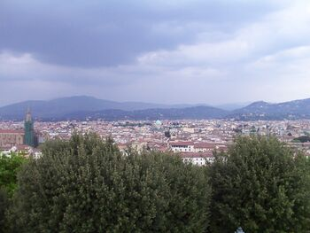 Panorama piazzeta michel angelo 1